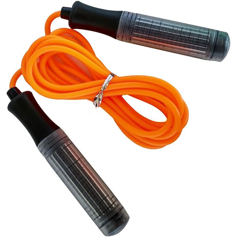 Скакалка B23649 оранжевый