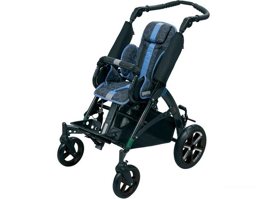 Кресло-коляска инвалидная детская Patron TOM 5 Streeter (передние колеса поворотные) LY-710-TOM5 сиденья водительское для ваз 2112
