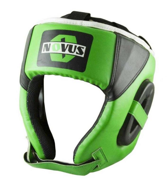 Купить Шлем боксерский Novus LTB-16321 зеленый,