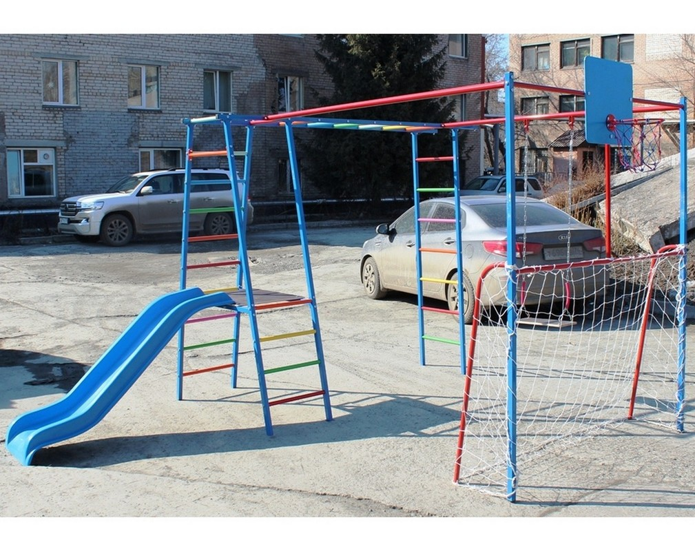 Купить Детский спортивный комплекс Plastep Вратарь без горки,