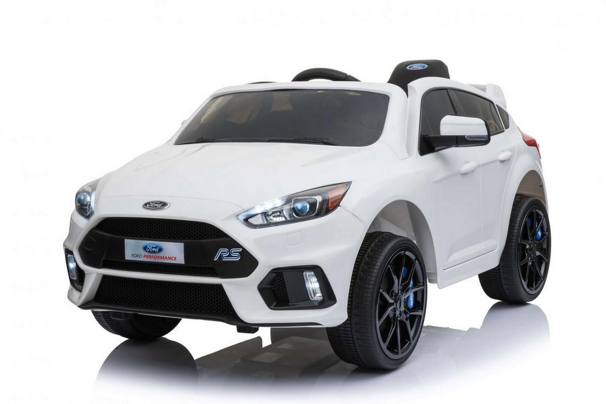 Электромобиль River-Toys Ford Focus RS белый (лицензия)