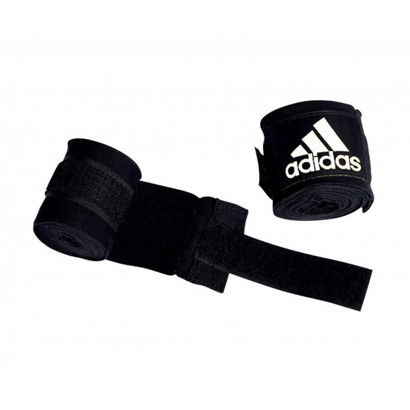 Бинты эластичные Adidas AIBA Rules Boxing Crepe Bandage черные