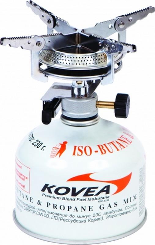 Горелка газовая Kovea Hiker Stove KB-0408 газовая горелка tourist turbo long tt 909