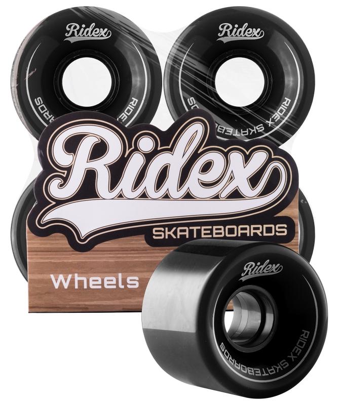 Комплект колес для круизера Ridex SB, 82А, 60x45мм, черный, 4 шт.