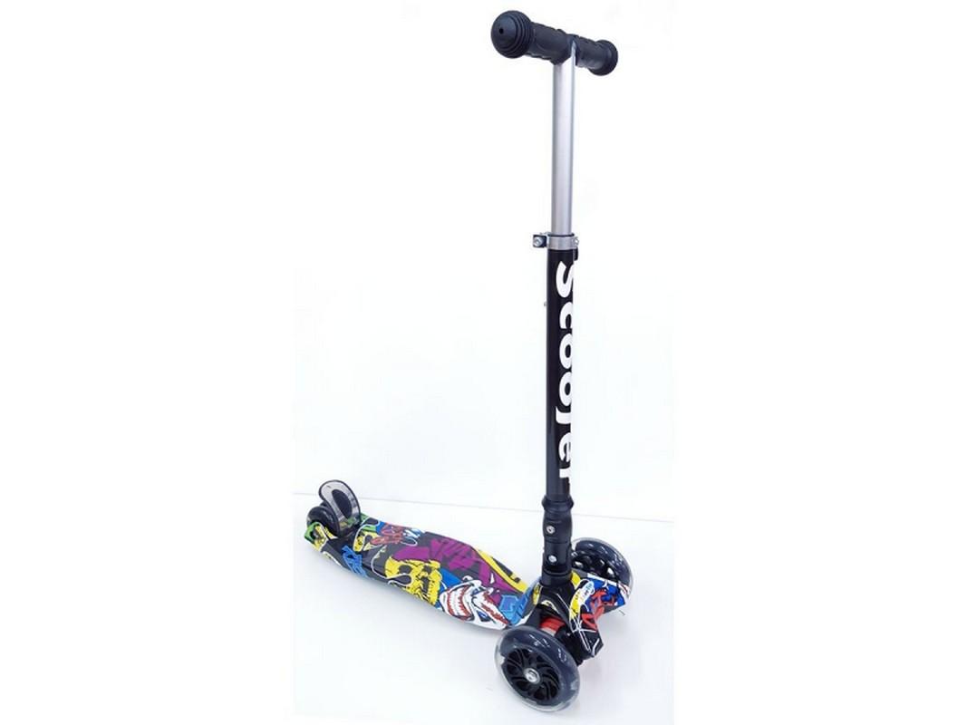 Купить Самокат тротинетка Scooter BKS-220 Print,