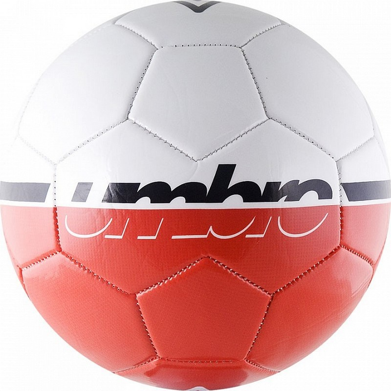 Мяч футбольный Umbro Veloce Supporter Ball р.5 бел\крас\чер мяч футбольный novus target р 5 бело черный