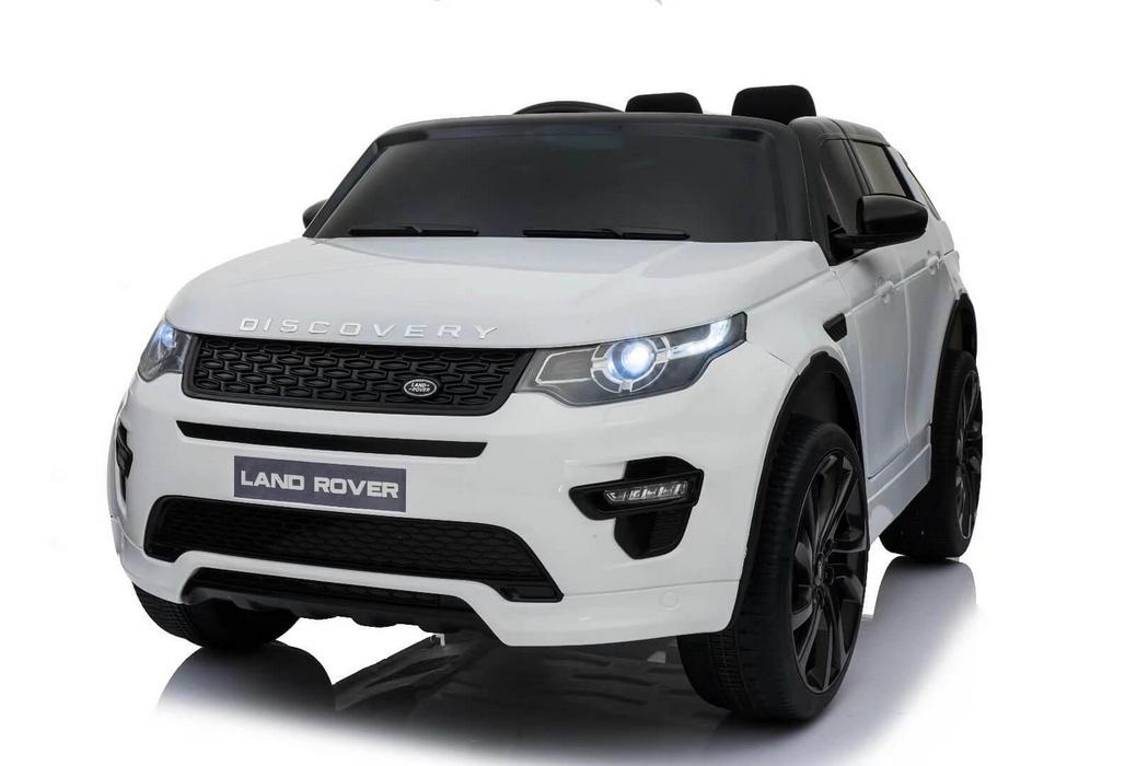 Детский электромобиль River-Toys Land Rover Discovery Sport O111OO White