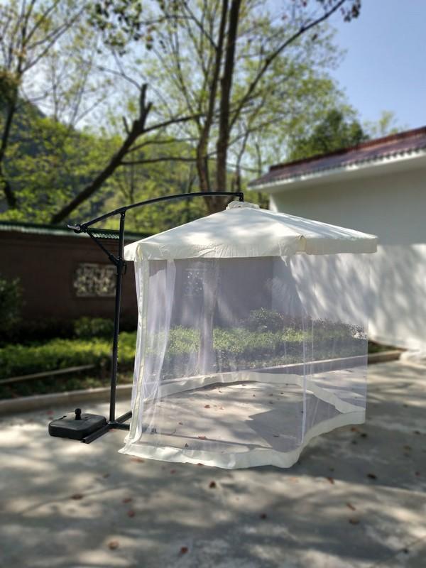 Зонт садовый D=300 см с москитной сеткой UB-235