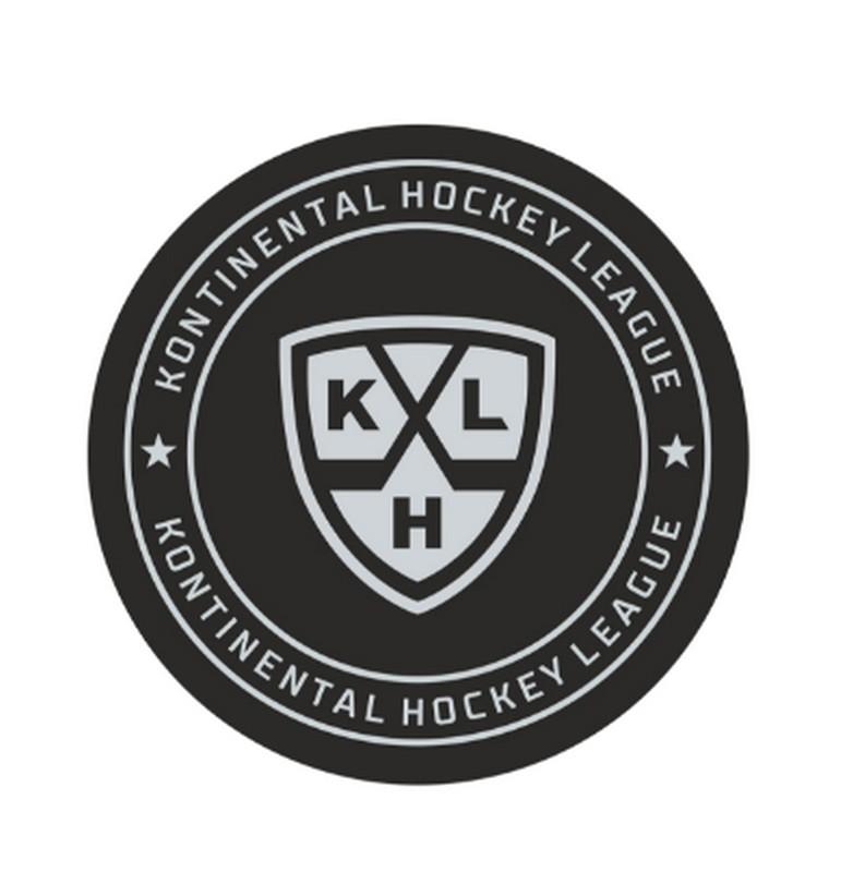 Шайба хоккейная Gufex КХЛ 2018, в блистере