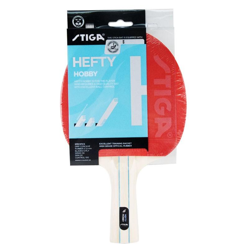 Ракетка для настольного тенниса Stiga Hefty Hobby 1210-1517-01 ракетка для настольного тенниса stiga impulse tube цвет красный