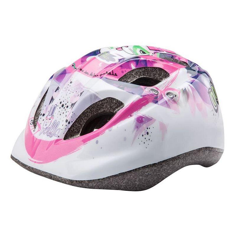 Шлем защитный Stels HB-8 (out-mold) фиолетово-белый 31180 фото