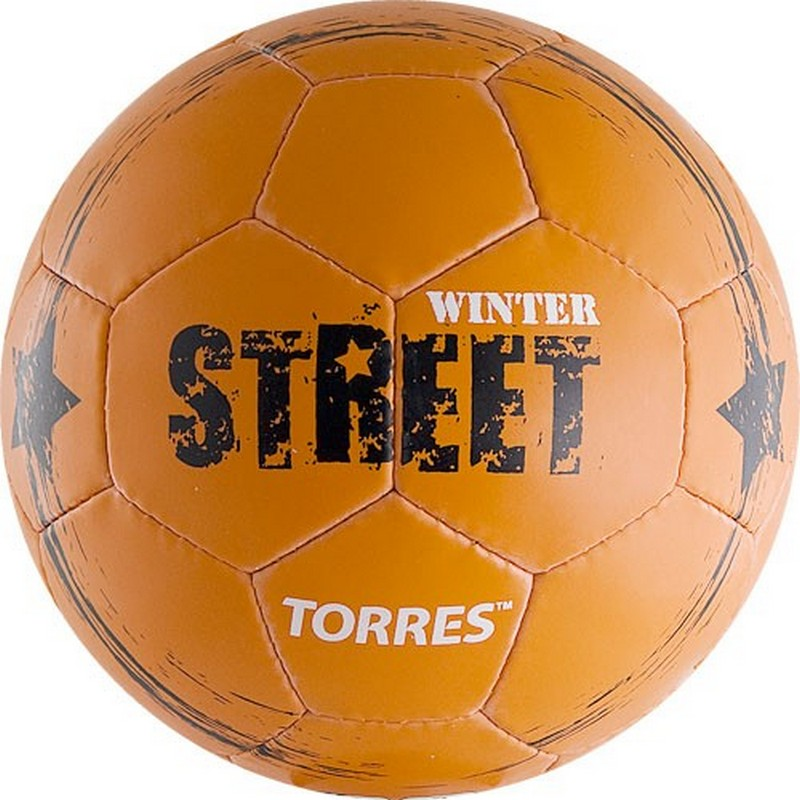 Мяч футбольный Torres Winter Street F30285 №5,  - купить со скидкой