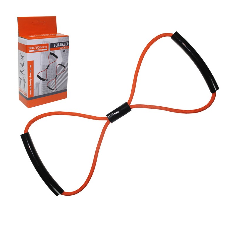 Купить Эспандер восьмерка Body Form BF-EEI 02 160-170 см 16кг,