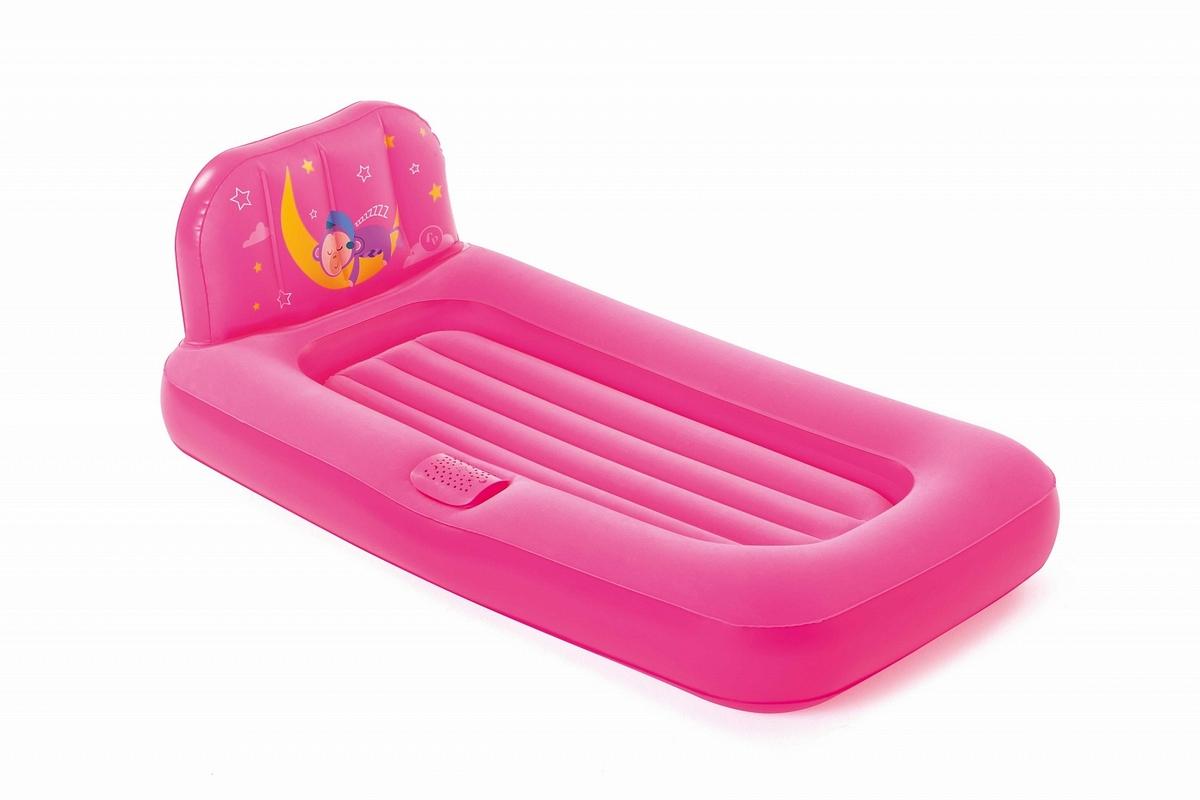 Купить Надувная кровать детская Dream Glimmers 132x76x46 см, с подсветкой Bestway 93548,