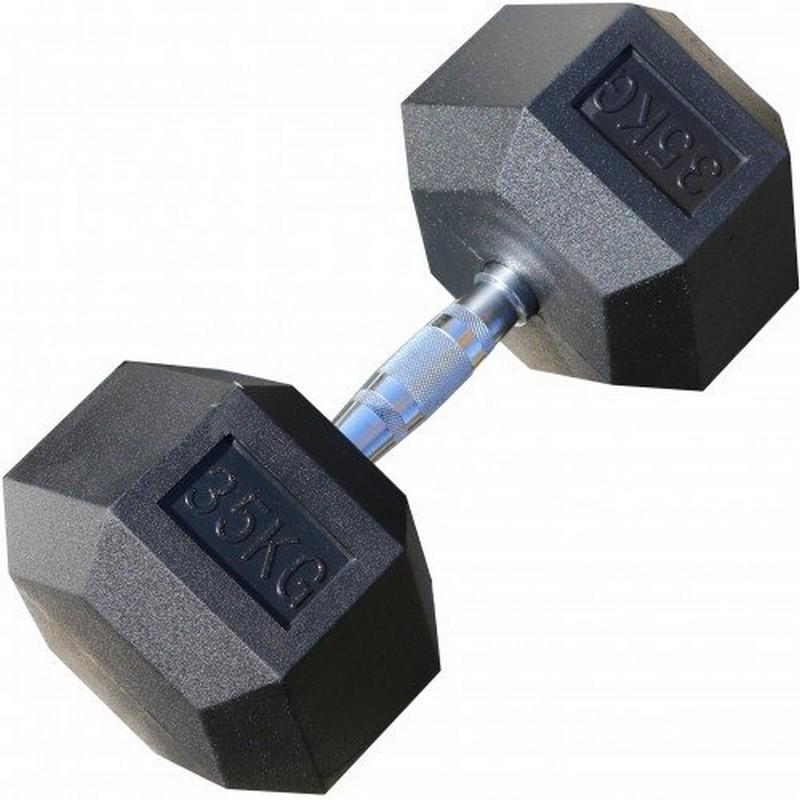 Комплект гексагональных гантелей Iron King 35-50 кг (шаг 2,5 кг) по 2 шт., 7 пар