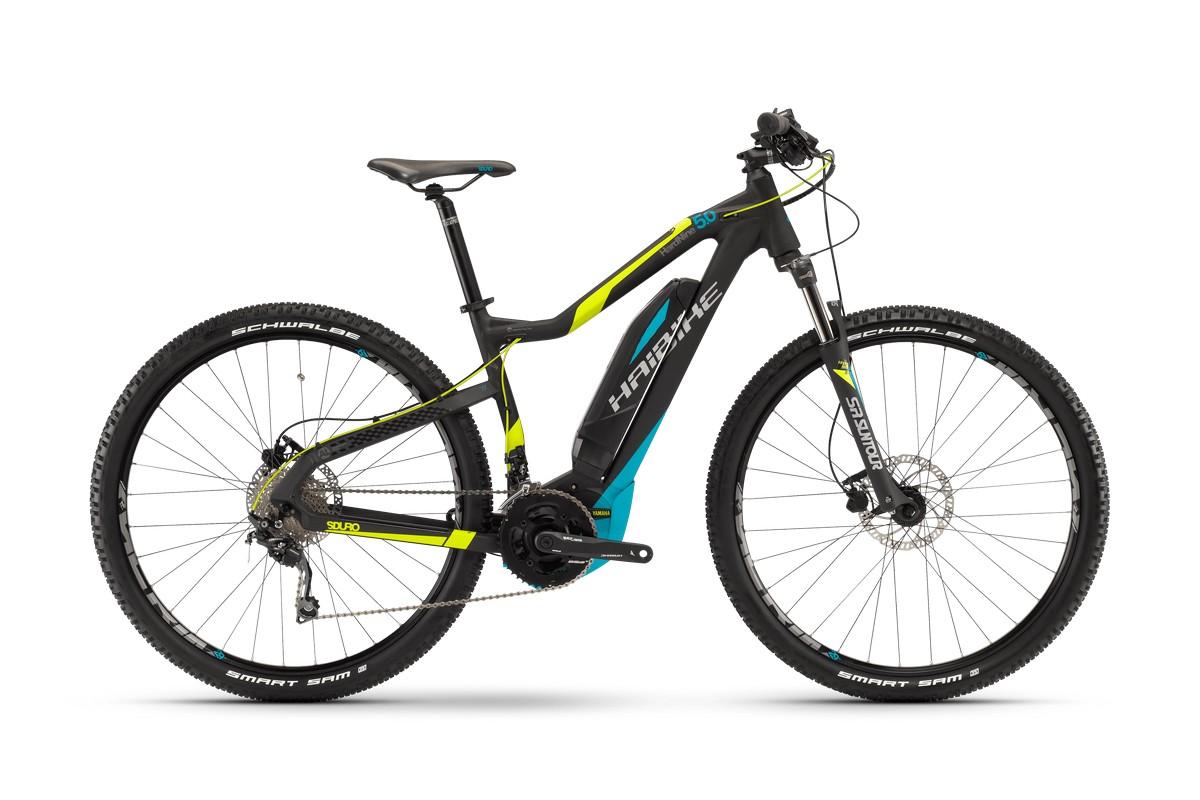 Электровелосипед Haibike Sduro HardNine 5.0 400Wh 20-Sp Deore (2017)