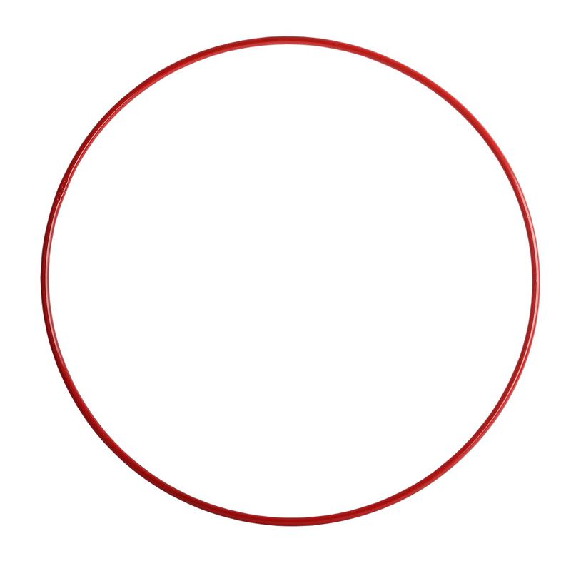 Обруч гимнастический 750мм красный