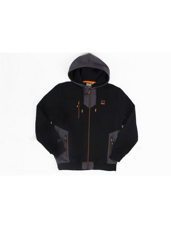 Толстовка на молнии с капюшоном Everlast Premium Sports черный EVR8864 BK брюки спортивные everlast premium sports evr8866 gr серые