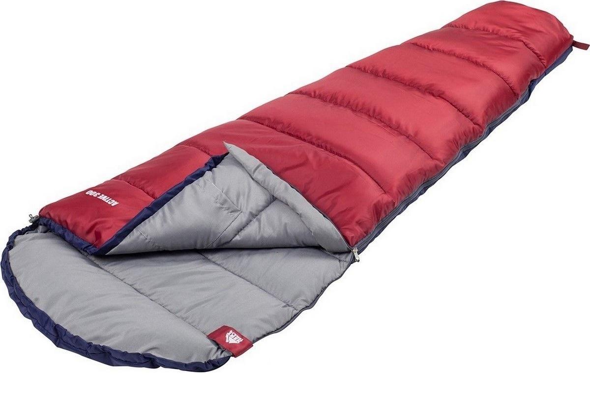 Спальный мешок Trek Planet Active 300 XL, левосторонняя молния, синий-красный