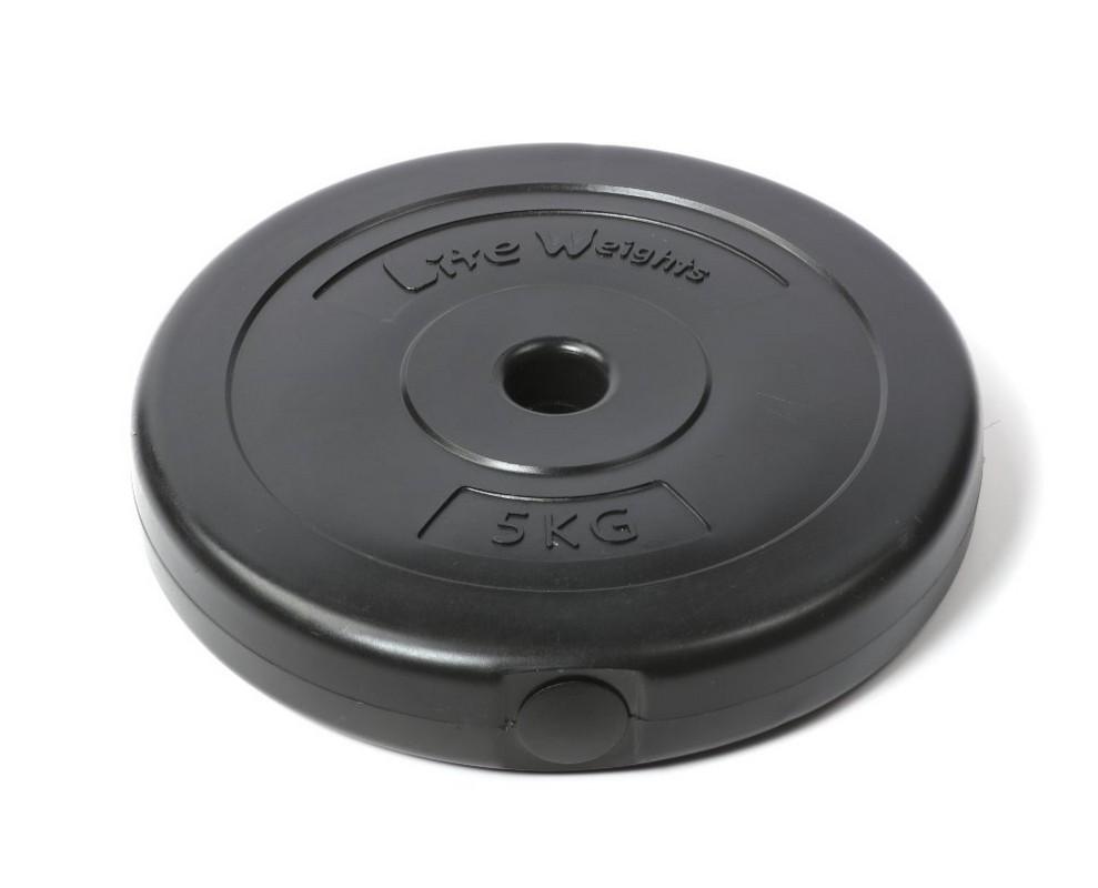 Диск пластиковый Lite Weights d26мм 5кг 1083LW черный