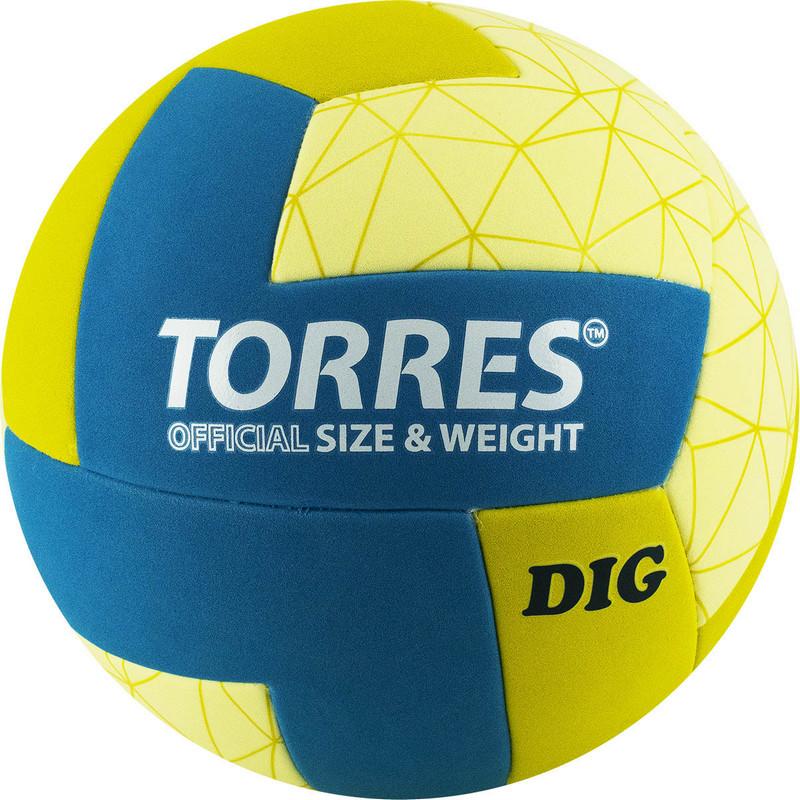 Купить Мяч волейбольный Torres Dig V22145, р.5,