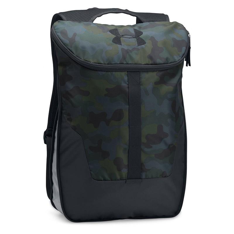 Рюкзак городской Under Armour Expandable 1300203-290, камуфл.-черный