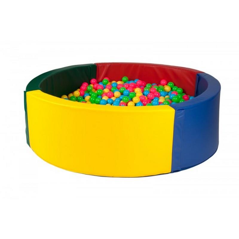 Купить Сухой бассейн для зала с комплектом шаров ФСИ d200 cм, шары d8 см 2100шт, 2471-1,