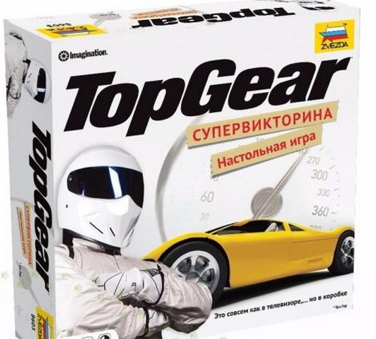 Настольная игра Zvezda Топ Гир (Top Gear), Настольные игры  - купить со скидкой