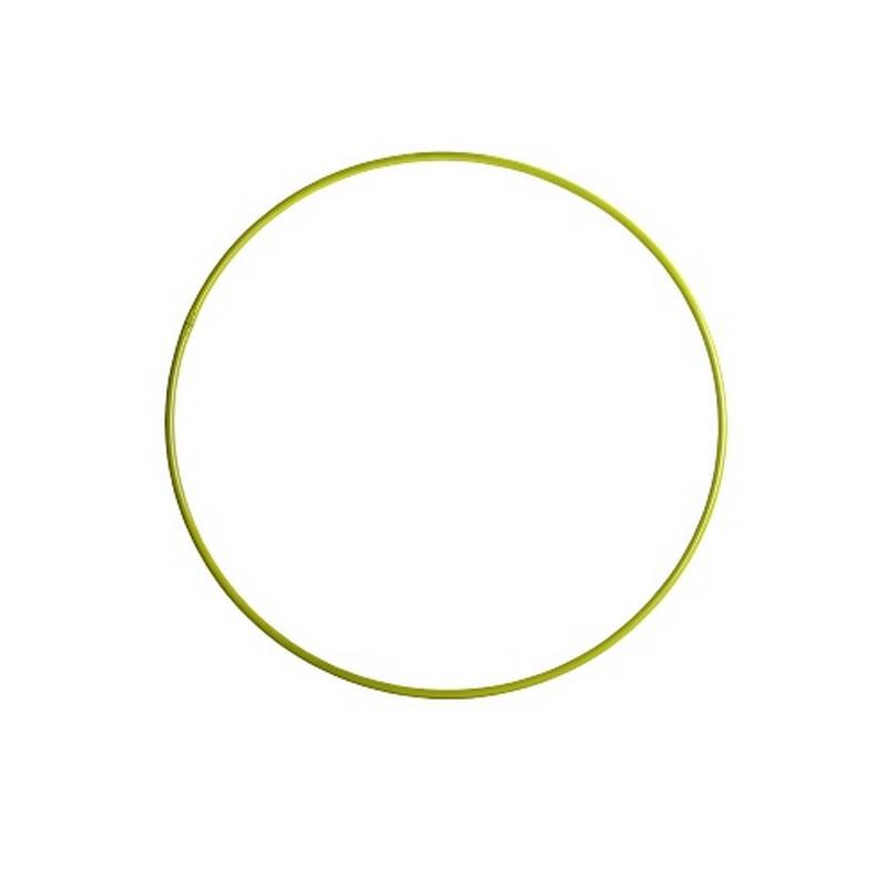Обруч гимнастический 540мм желтый
