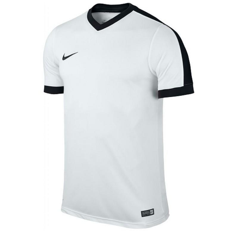 Футболка спортивная Nike Striker IV Jersey SR 725892-103 мужская, бел/черн. футболки nike футболка nike ss striker iv jsy 725892 815