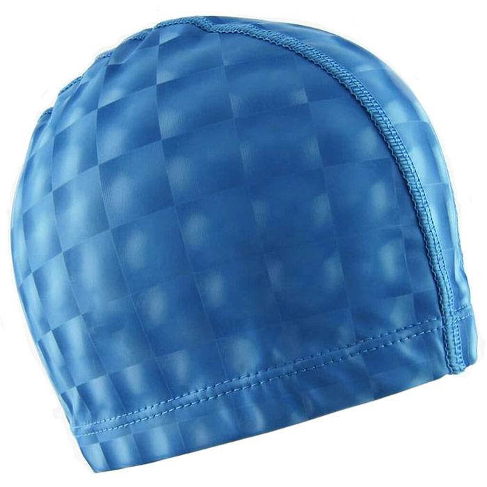 Купить Шапочка для бассейна F11840 ПУ (синяя), NoBrand