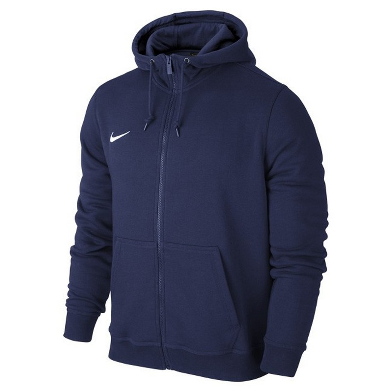 Толстовка Nike Team Club Fz Hoody 658499-451 Jr тайтсы mizuno mizuno mi951ewuck63