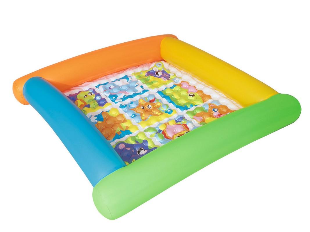 Купить Бассейн надувной 132х132x23см Bestway 52240, Детские надувные бассейны