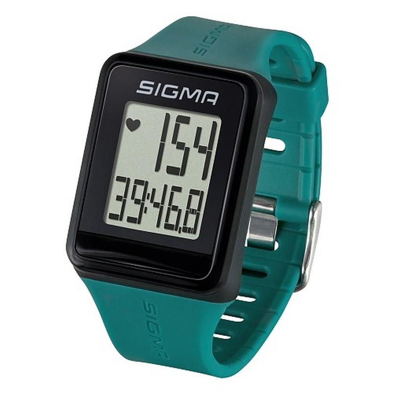 Пульсометр Sigma iD.Go 24520 зеленый пульсометр sigma pc 15 11 цвет серый 15 функций