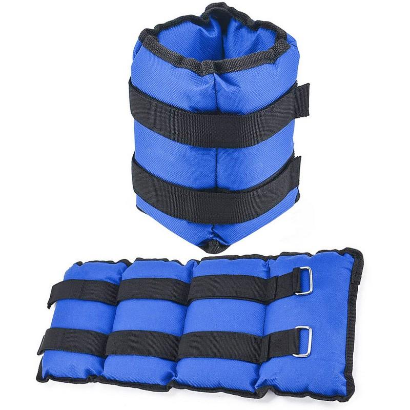 Купить Утяжелители 6 кг (2х3,0кг) AW100-6 синий (D34463), NoBrand