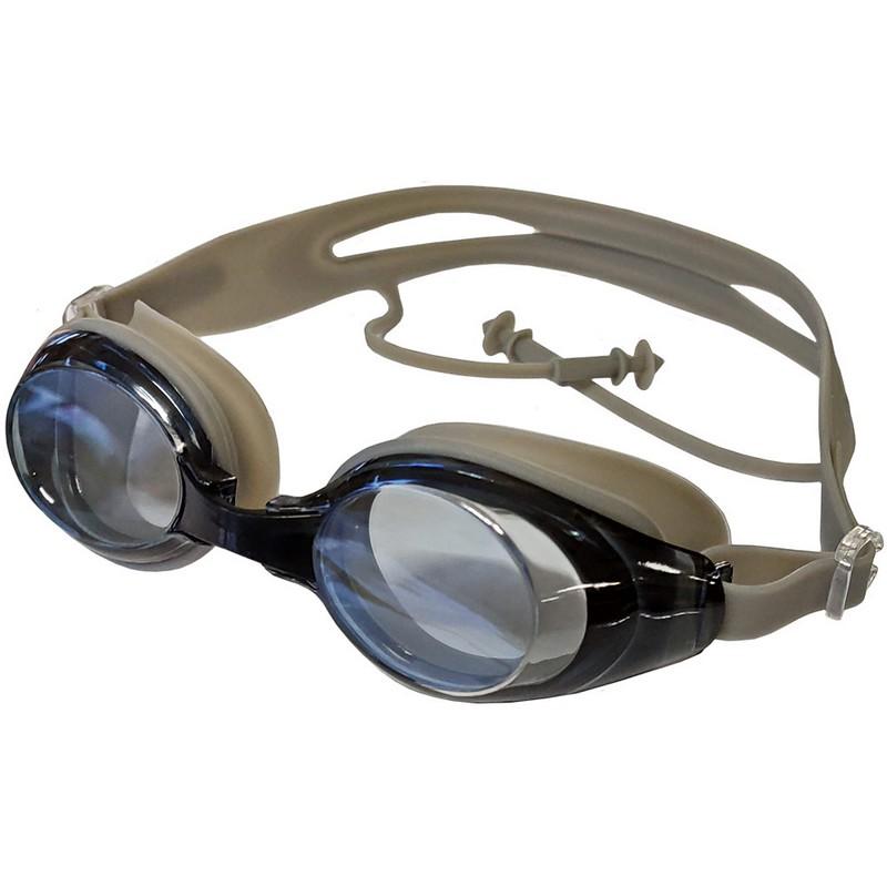 Купить Очки для плавания с берушами B31548-9 Серебро, NoBrand