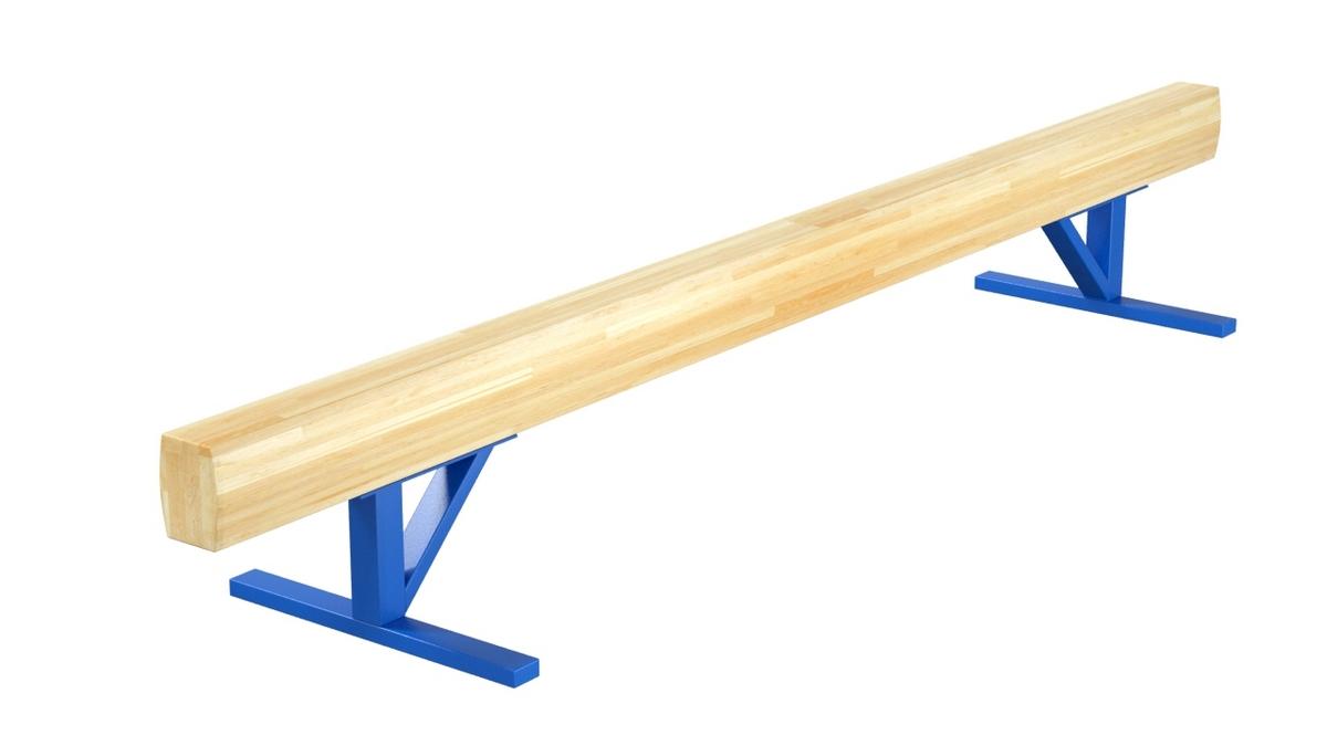Купить Бревно гимнастическое низкое L=3,5 м Glav 04.10.01-3,5,