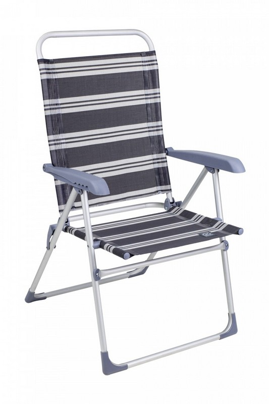 Кресло складное GoGarden Sunrise Deluxe Серый