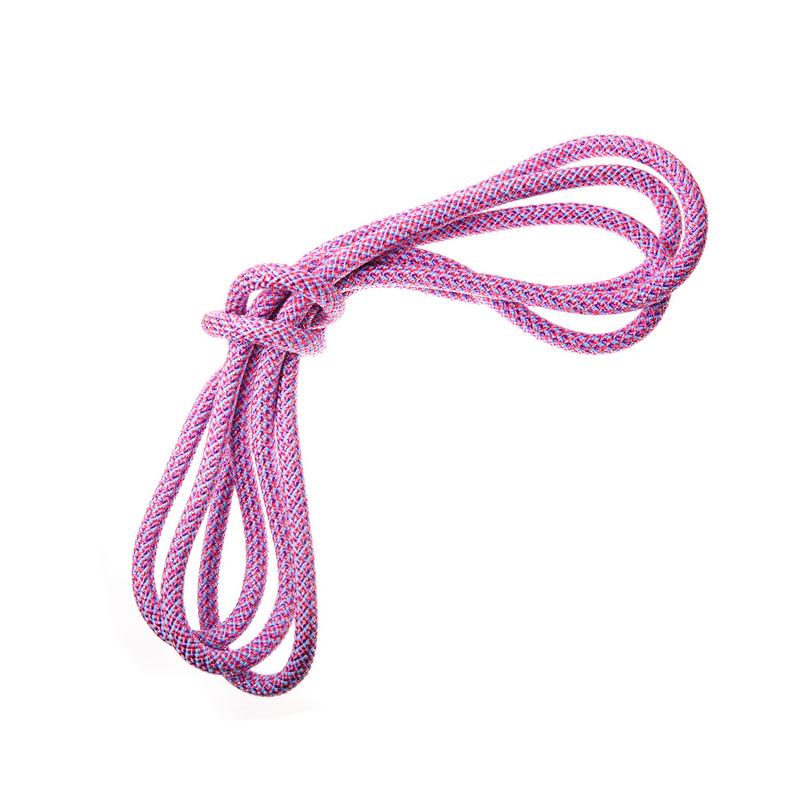 Скакалка гимнастическая с люрексом Body Form BF-SK10 Радуга 3м,180гр. (розовый-голубой-фиолетовый)