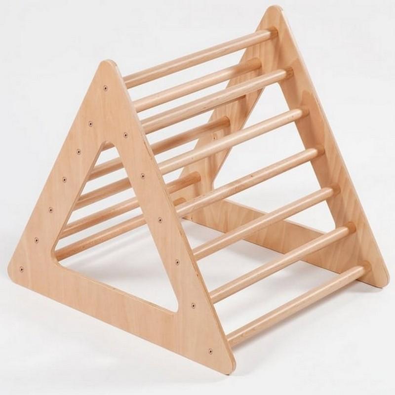 Купить Треугольник модуль детский для восхождения на мост Dinamika из дерева,