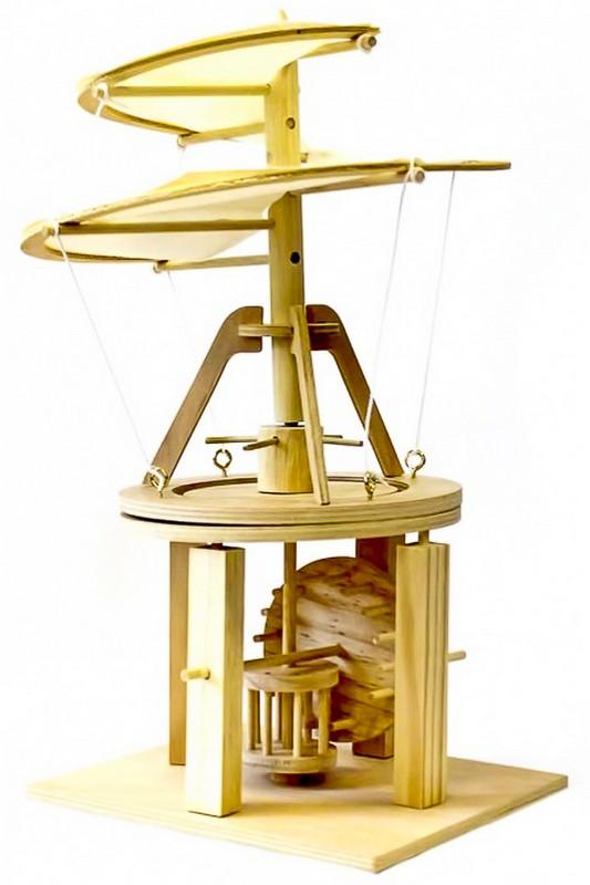 Конструктор из дерева Bradex Воздушный винт  Леонардо Да Винчи DE 0172