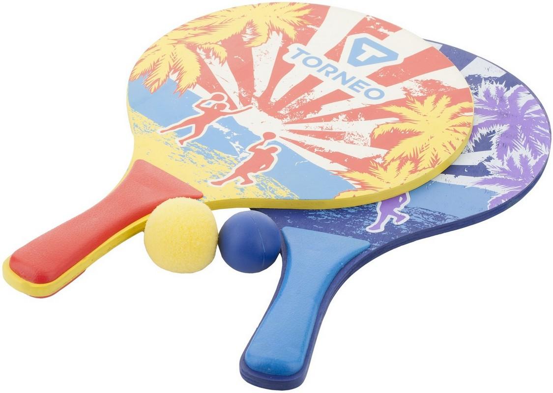 Набор для пляжного бадминтона: 2 ракетки, 2 мяча Torneo TRN-M007-1-HL