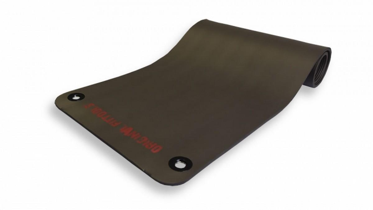 Коврик для йоги Original Fit.Tools NBR FT-YGM-125NBR (180х61х1,25) grey