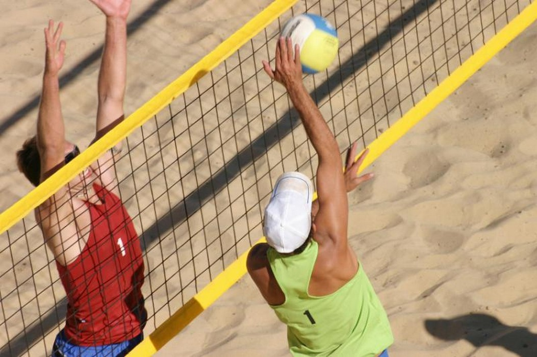 Сетка для пляжного волейбола ФСИ 050130, нить 3 мм (1х8,5м) черная