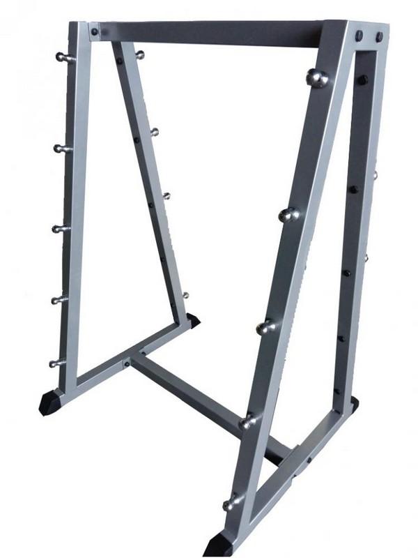 Стойка для грифов и штанг на 10 штук Alex BR-04 стойка для хранения аэробических штанг на 12 комплектов 7207549 вертикальная