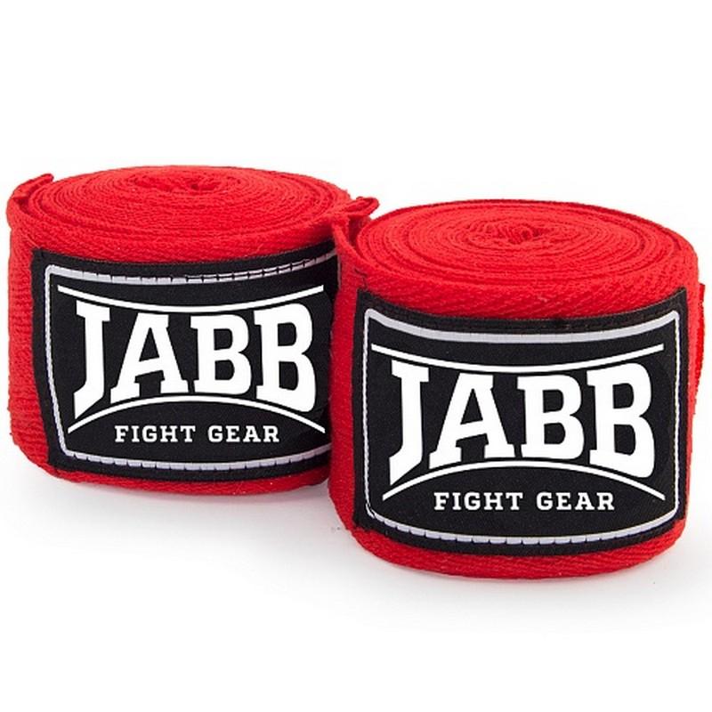 Купить Бинты боксерские эластичные l350см Jabb JE-3030 красный,