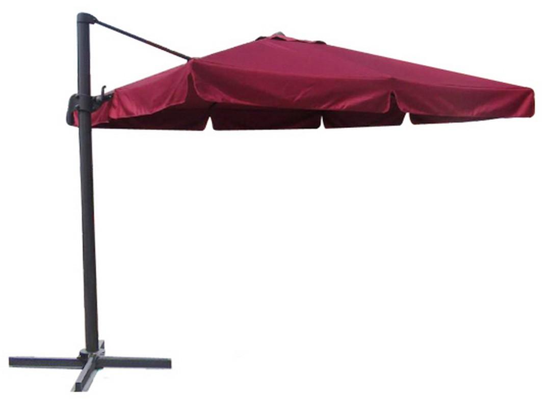 Зонт садовый подвесной GardenWay A002-3030 Бордовый