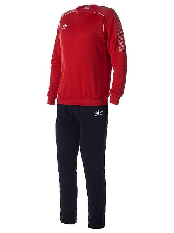 Костюм спортивный Umbro Prodigy Team Poly Suit мужской 350415 (261) красн/чер/бел.