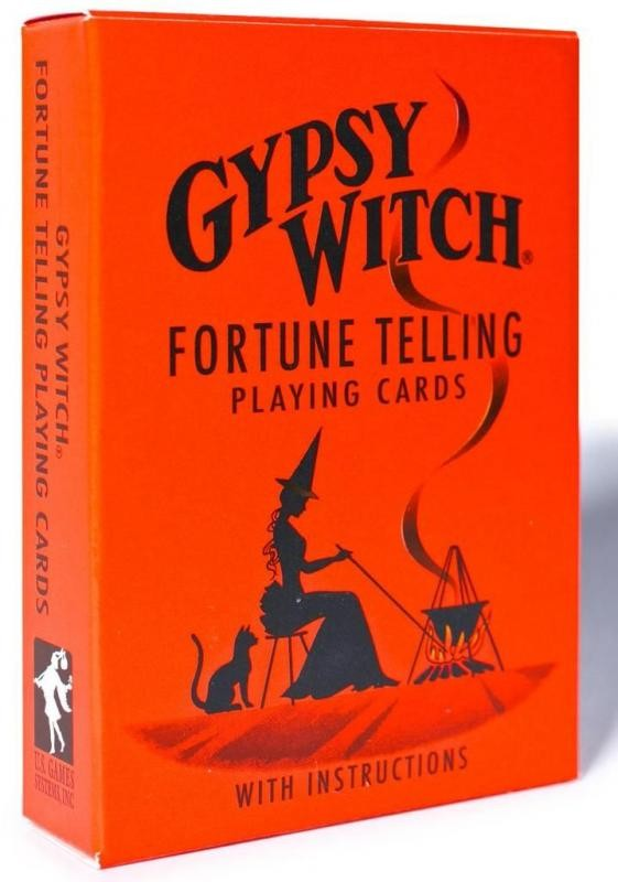 Карты Таро Gypsy Witch Fortune Telling Cards GW10 NoBrand
