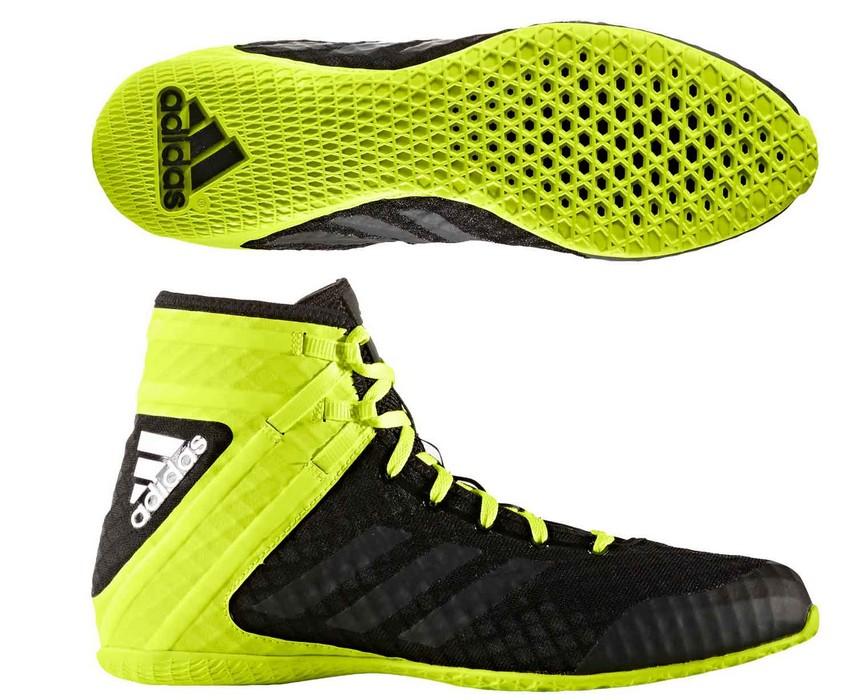 Боксерки Adidas Speedex 16.1 черно-желтые AQ3408